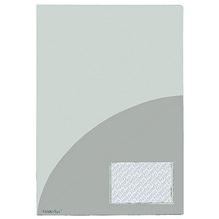 FolderSys Broschürenmappe 10009-04 DIN A4 PP Klarsichttasche tr
