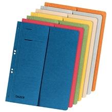 Falken Ösenhefter 80003809 DIN A4 kaufm. Heftung 250g Karton blau
