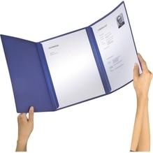 Leitz Bewerbungsmappe Exklusiv 39740039 3teilig dunkelblau
