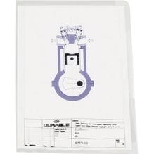 DURABLE Sichthülle 233919 DIN A4 0,15mm PVC tr 50 St./Pack.