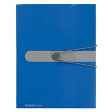 Herlitz Sammelbox 11206125 DIN A4 Polypropylen opak blau