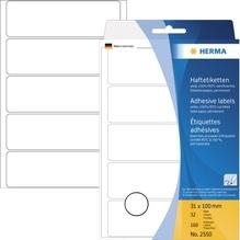 HERMA Etikett 2550 31x100mm weiß 160 St./Pack