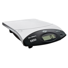 WEDO Briefwaage Easy 482200 Batterie 2kg schwarz/silber