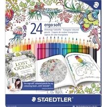 STAEDTLER Farbstift ergosoft 157 C24JB farbig s. 24 St./Pack