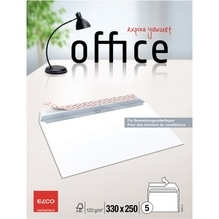 ELCO Bewerbungskuvert Office 74486.12 330x250mm ws 5 St./Pack.