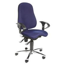 TOPSTAR Bürodrehstul Sitness® 10 SI59UG26 max. 110kg blau