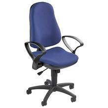 TOPSTAR Bürodrehstuhl Support SY 8550SG26 max. 120kg schwarz/blau