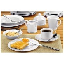 Esmeyer Kaffeeservice Heike 433-145 20teilig Porzellan weiß