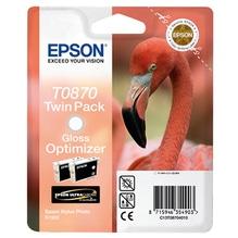Epson Tintenpatrone C13T08704010 T0870 Gloss Optimizer 2 St./Pack.