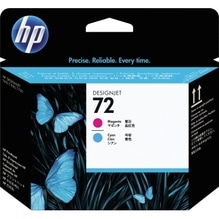 HP Druckkopf C9383A 72 cyan/magenta