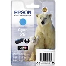 Epson Tintenpatrone C13T26124012 26 4,5ml cyan