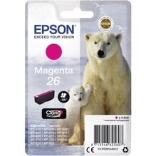 Epson Tintenpatrone C13T26134012 26 4,5ml magenta