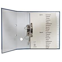Leitz Register 12010085 DIN A4 A-Z volle Höhe Tauenpapier grau