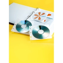 DURABLE CD/DVD Hülle COVER FILE 523919 PP transparent 10 St./Pack.