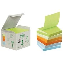Post-it Haftnotiz Recycling Z-Notes R3301GB 76x76mm sortiert 6 St./Pack