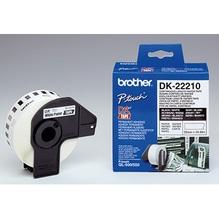 Brother Endlosetikettenrolle DK22210 29mmx30,48m weiß