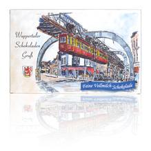 Wuppertaler Schokoladen Gruß - feine Vollmilch Schokolade, 125g