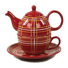 Tea for one tartan rot