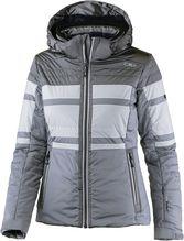 CMP Damen Skijacke Zip Hood argento 3W02976