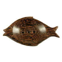 Seifenschale Fisch dunkel Kokos Gepa Fair gehandelt
