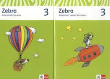 3. Schuljahr, Arbeitsheft Sprache; Arbeitsheft Lesen/Schreiben, 2 Hefte