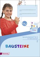 Spracharbeitsheft 2 Teil A/B/C mit Methodenheft, 3 Hefte
