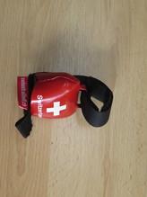 Glocke Schweizerkreuz weiß