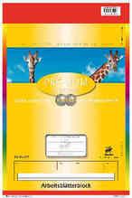 Arbeits-Block  Lin2  A4 50Bl Lin Nr 52 Anfänger  (229215002 )