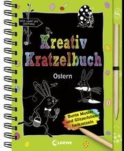 Kreativ-Kratzelbuch: Ostern