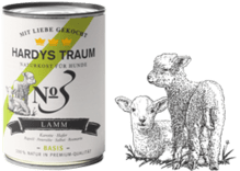 Hardys Traum No3 Basis 6 x 800g Lamm