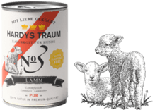 Hardys Traum Lamm Pur 6 x 400g No3