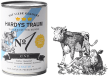 Hardys Traum® Sensitiv Nº 1 - 6 x 800g