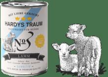 Hardys Traum® Sensitiv Nº 3 Lamm 6 x 400g