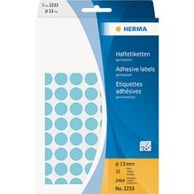 HERMA Markierungspunkt 2233 13mm Papier blau 2.464 St./Pack.