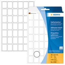 HERMA Vielzwecketikett 2380 16x22mm Papier weiß 1.344 St./Pack.