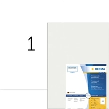 HERMA Etikett Premium 8694 297x420mm transparent 50 St./Pack.