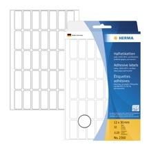 HERMA Vielzwecketikett 2350 12x30mm Papier weiß 1.120 St./Pack.