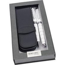 ONLINE Schreibgeräteset 38266 FH/KS/Etui Lined White