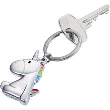 TROIKA Schlüsselanhänger EINHORN KR17-08/MA matt verchromt