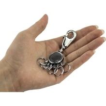 TROIKA Schlüsselanhänger BLACK VISION KYR01-A161 Karabiner