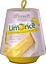 BAULI Pandoro Limoncè mit Limoncellocreme