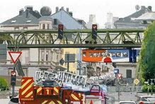 """Wuppertal-Motiv """"Robert-Daum-Platz"""", WM 106, 30 x 40 cm"""