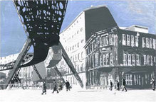 "Wuppertal-Motiv ""Schwebebahn"", WM 107, 30 x 40 cm"