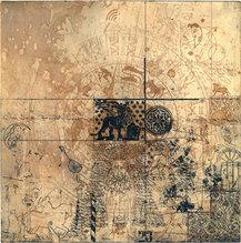 Venedig-Motiv, Druckgraphik/Radierung, VR 202, 48 x 48 cm