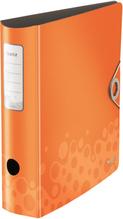 Ordner Leitz orange 8cm