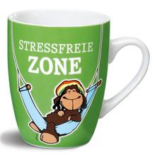 Nici Porzellan-Tasse 'Stressfreie Zone'