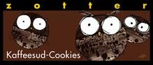 Zotter - Kaffeesud-Cookies - enthält Gluten