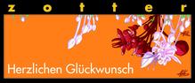 Zotter - Herzlichen Glückwunsch - Tausend Blätternougat