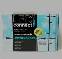 LED-Kette 'Connect' Verlängerung mit 100 Lichtern warm-weiß