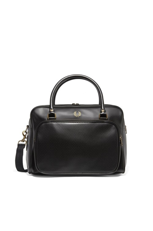 Fred Perry. Fred Perry Perforated Holdall black